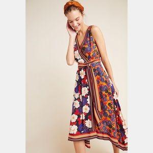 Anthropologie Cassandra Midi Dress by Maeve